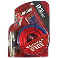 Renegade REN35KIT ANL Fused 2 Gauge Amplifier Installation Kit (Red/Blue)