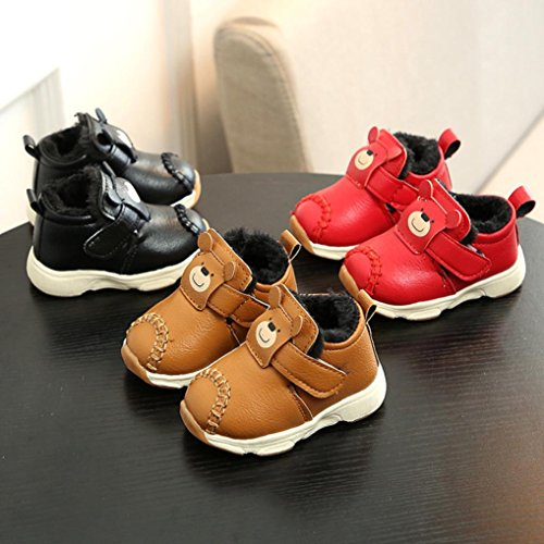 Transer Unisex Baby Thick-Lining Warm Boots, Adorable Toddler Boys Girls  Winter Sneakers Shoes: Amazon.co.uk: Shoes & Bags