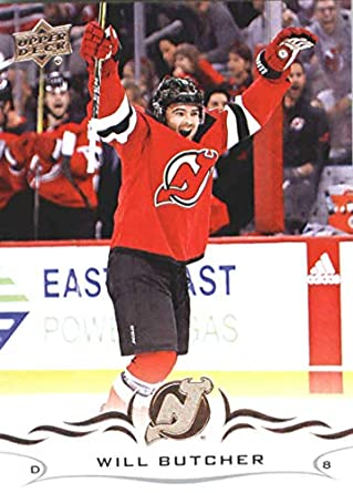 best service 0dbc4 71cc5 Amazon.com: Hockey NHL 2018-19 Upper Deck #112 Will Butcher ...