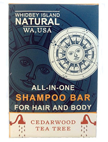 Conditioner Peppermint Dog (ALL-IN-ONE SHAMPOO BAR - Atlas Cedar and Tea Tree Oil | For Hair and Body | Non-Drying and Moisturizing | Safe for Colored Hair | made by Whidbey Island Natural (4.2 oz (Two Bar Pack Prime)))