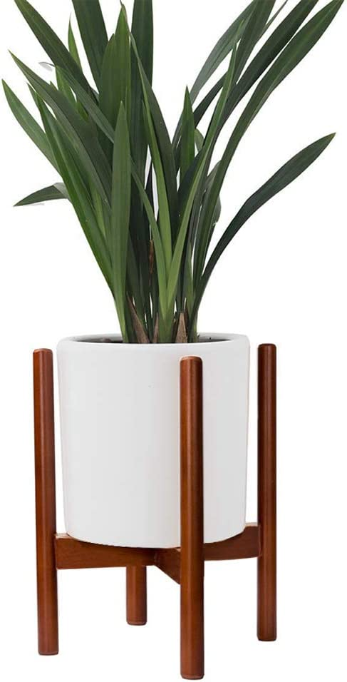 Best Fits 8in Planter Goodpick Mid Century Plant Stand Planter Not Included Wood Indoor Flower Pot Holder Simple Display Potted Rack Modern Home Decor