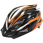 51Qa82MmUsL. SS150 Lixada Casco da bicicletta sicurezza sport della bici con visiera - Integrated Mountain Bike Bicycle Riding Helmet - 25 Vents doppio In-Mould per Casco Bici Adulto 58~62cm