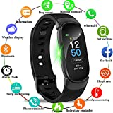 LIGE Fitness Tracker,Color Screen Activity Tracker Smart Watch with Heart Rate Sleep Monitor