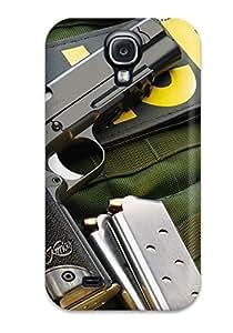 Premium OkMHdcj12225eCAJV Case With Scratch-resistant/ Gun Case Cover For Galaxy S4