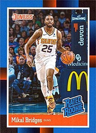 ec28972554f2 2018-19 Panini Instant  RR10 Mikal Bridges Rated Rookie Basketball Card -  1988 Donruss