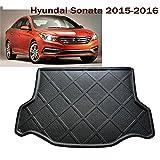 Car Boot Pad Carpet Cargo Mat Trunk Liner Tray Floor Mat Custom Fit Hyundai Sonata 2015-2016