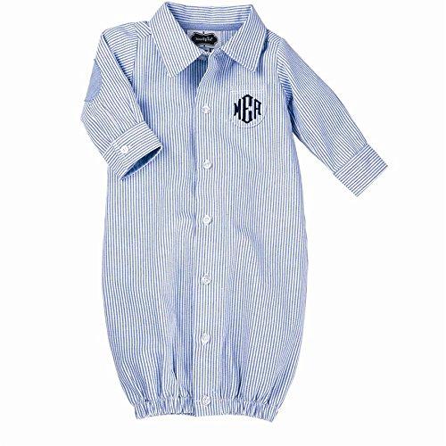mud pie baby boy gown - 5