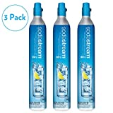 SodaStream 60L Co2 Carbonator, 14.5oz, Set of 3