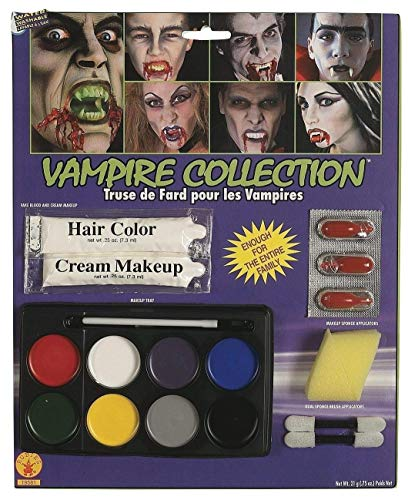 Rubie'smplete Vampire Makeup Kit, White, One