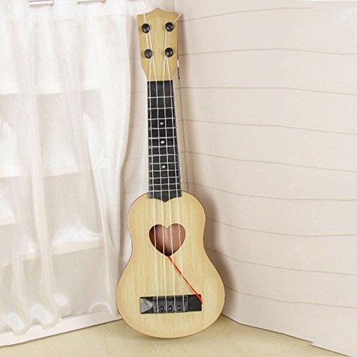 Beautyrain 1 pc Enfants apprenant des jouets de guitare Guitare de simulation pour enfants Instruments de musique éducatifs précoces