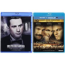 Gangs of New York & Once Upon A Time In America [Blu-ray] 2 Pack Crime Movie De Niro & DiCaprio Set