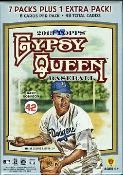 2013 Topps Gypsy Queen MLB Baseball Factory Sealed Retail...