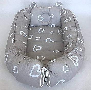 süße Träume Babynestchen Babydecke Kissen Mädchen KOKON für Babys