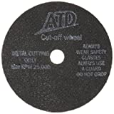 ATD Tools 8893 1/16'' x 3'' Cut-Off Wheel, (Pack of 25)