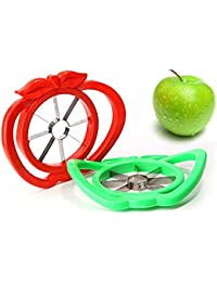 Favor Apple cutter knife corers fruit slicer Multi-function ABS+ stainless steel kitchen cooking Vegetable Tools(Color... cheapest
