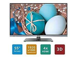 """Soniq E55S14A Super Slim 55"""" FHD 3D Smart Borderless Led Tv"""