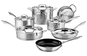 Cuisinart 89-11S 11-Piece Professional Stainless Cookware Set