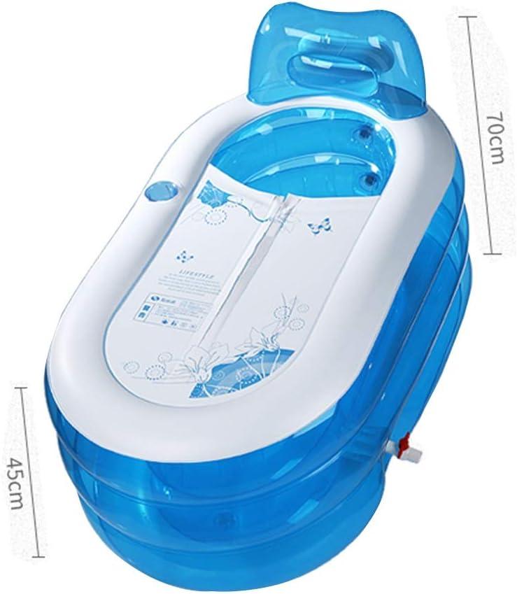 Color : Blue, Size : 130 * 70 * 70cm Freestanding Bathtubs ...