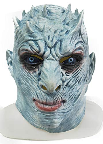 ZMJ The Night's King Mask Game of Thrones Halloween Horror Costume Latex -