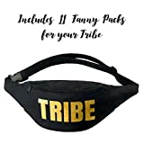Tribe Bachelorette Fanny Packs- Block Text
