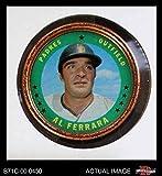 1971 Topps Coins # 25 Al Ferrara San Diego Padres (Baseball Card) Dean's Cards 4 - VG/EX Padres