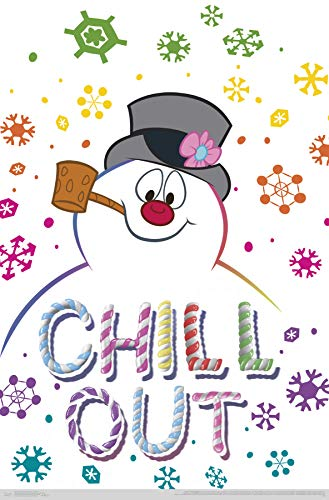 Trends International Frosty The Snowman - Chill Out Wall Poster Multi