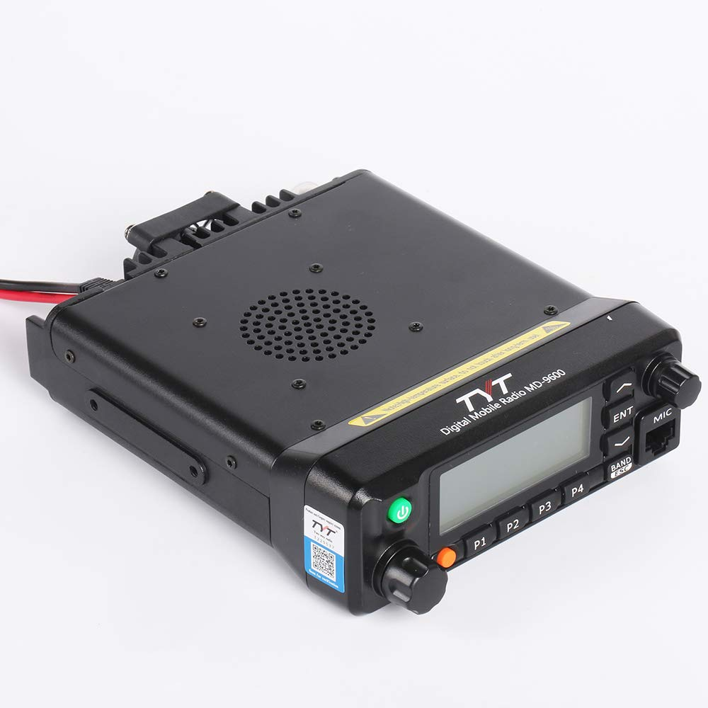 Dual Band 136-174MHz//400-480Mhz Mobile Digital Ham Radio VHF//UHF Car Amateur Transceiver NO GPS TYT MD-9600