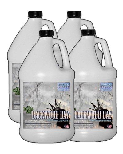 Backwood Bay (Extreme Hang Time Longest Lasting Fog Fluid) - 4 Gallons Fog Juice by Froggys Fog
