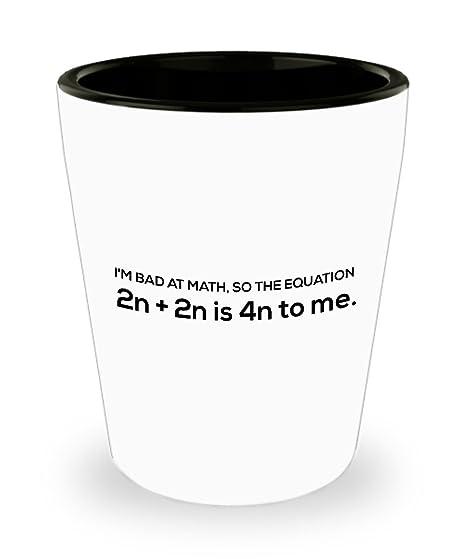 Amazon.com: Divertido matemáticas profesor regalos – I m ...