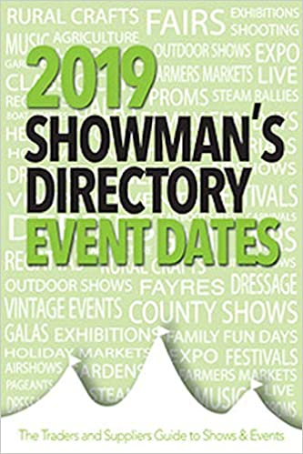 The 2019 Showman's Directory Event Dates: The Traders and