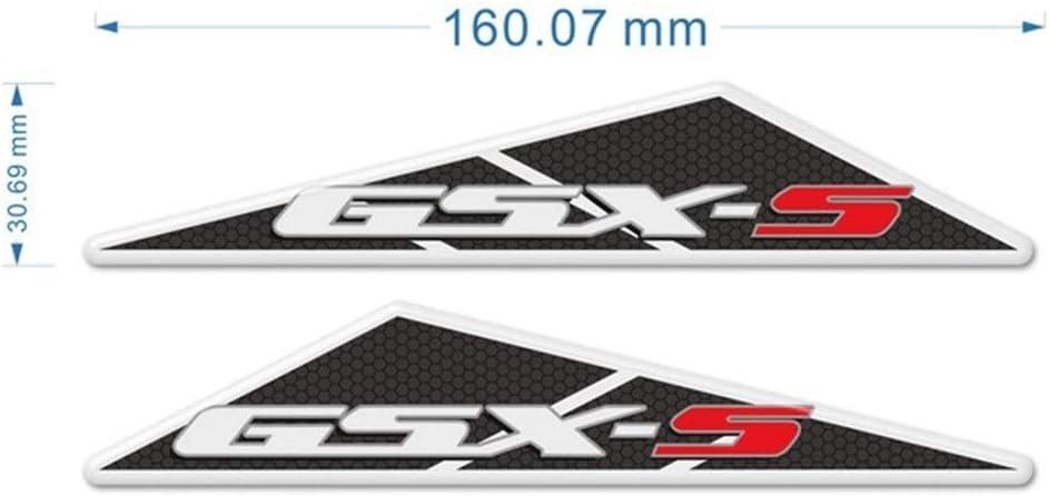Color : GSX S Tank pad 1 GSXS GSXS 750 1000 for Suzuki GSX-S125 GSX-S750 GSX-S1000-Beh/älter-Auflage-Schutz-Aufkleber Side-Auflage-Schutz-Motorrad 2019 2020