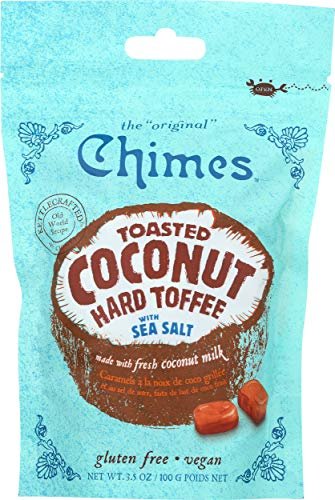 Chimes Toffee Hard Coconut Sea Salt, 3.5 oz