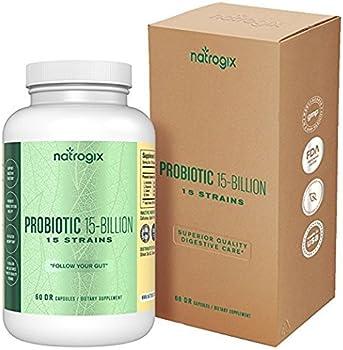 Natrogix 15 Strains 15 Billion CFU Probiotics