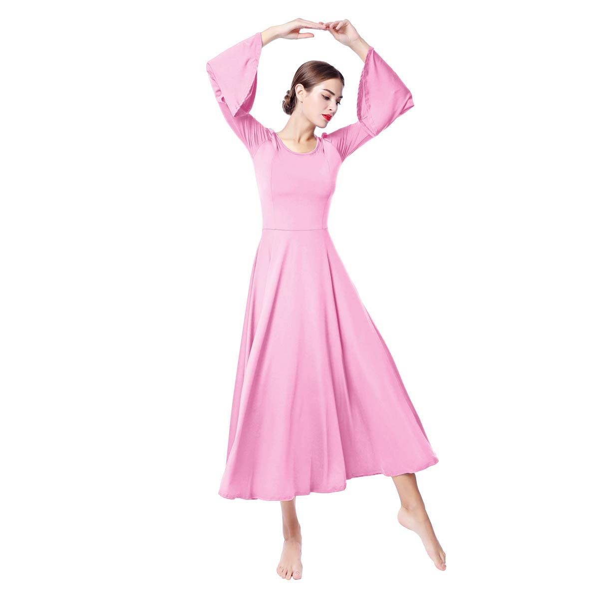 低価格 OBEEII B07FSJRYSY DRESS レディース レディース B07FSJRYSY Medium|ピンク ピンク ピンク Medium, フクトク:c79d5517 --- apundiscountdega.com