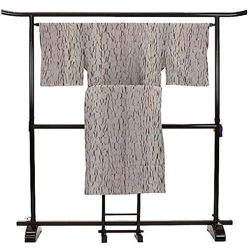 スプリットヘア入場二部式 着物 小紋 絞り 紫色 カジュアル 地味 簡単 正絹 着物 きもの リサイクル レディース 【中古】 90016884