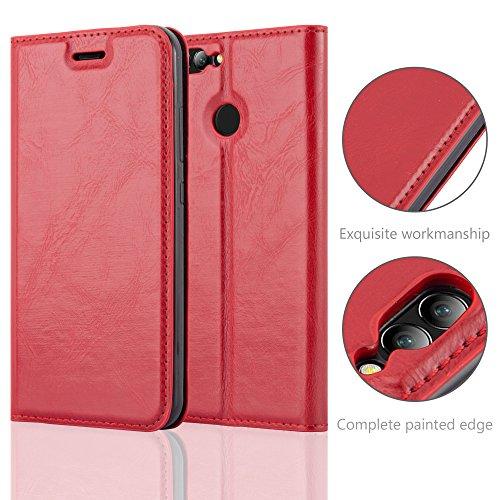 Cadorabo - Funda Book Style Cuero Sintético en Diseño Libro para >                                              Huawei NOVA 2                                              <