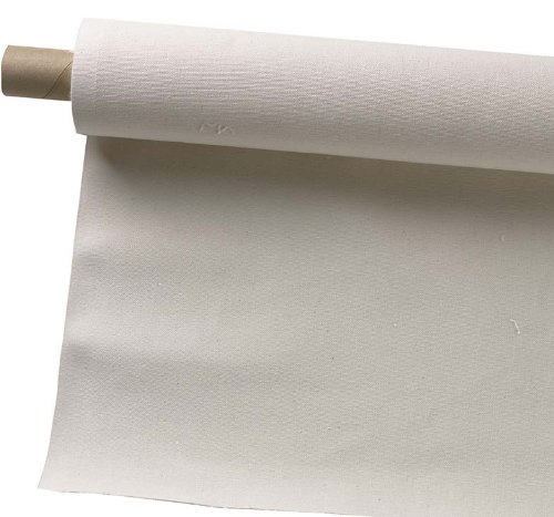 Pro Art 63-Inch by 3-Yards Canvas Rolls, Unprimed (Linen Roll)