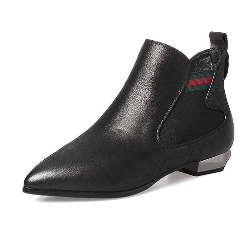 ZPEDY Zapatos De Mujer, Puntiagudos, Cremallera Lateral, Botines, Cómodos, Elegantes, Ponibles: Amazon.es: Zapatos y complementos