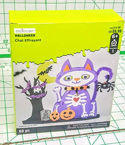Creatology Halloween Scary cat, Spider, and bat kit 68 Piece Set MSRP -