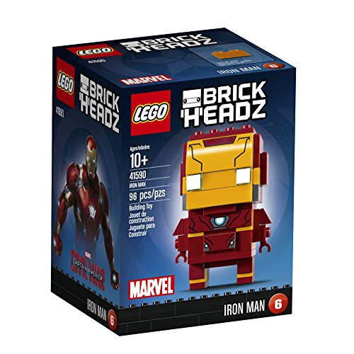 with LEGO BrickHeadz design