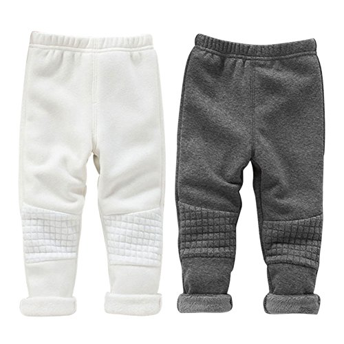 Timall Baby Girl Autumn Winter Warm Skinny Thick Leggings Casual Trousers Christmas Pants Jogger Snow Trousers Pants