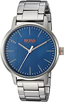 HUGO BOSS Men's 'COPENHAGEN' Stainless Steel Casual Watch