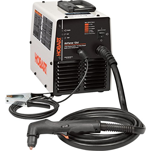 Hobart AirForce 12ci Plasma Cutter with Built-In Air Compressor (Hobart Plasma Cutter With Built In Compressor)