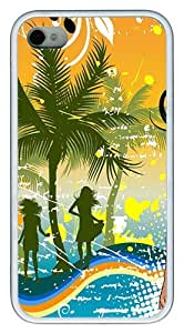 Bikini Bash PC hard Case Cover for iPhone 4 and iPhone 4s ?¡ìC White
