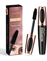 AsaVea 4D Silk Fiber Lash Mascara Waterproof, Luxuriously...