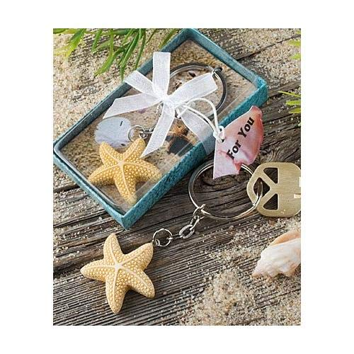 Star Fish Keychain /& Keyring
