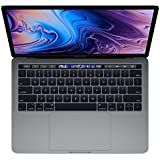 Apple MacBook Pro MR9Q2 with Touch Bar and Touch ID Laptop -8th Gen-Intel Core i5,2.3Ghz, 13.3-Inch, 256GB SSD,8GB, EN-AR Keyboard, macOS, Space Gray, Middle East Version