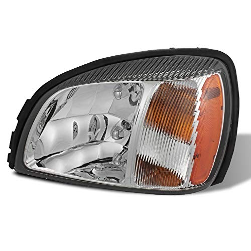 (For 2000-2005 Deville Left/Driver Side Headlight Front Lamp Replacement LH 2001 2002 2003)