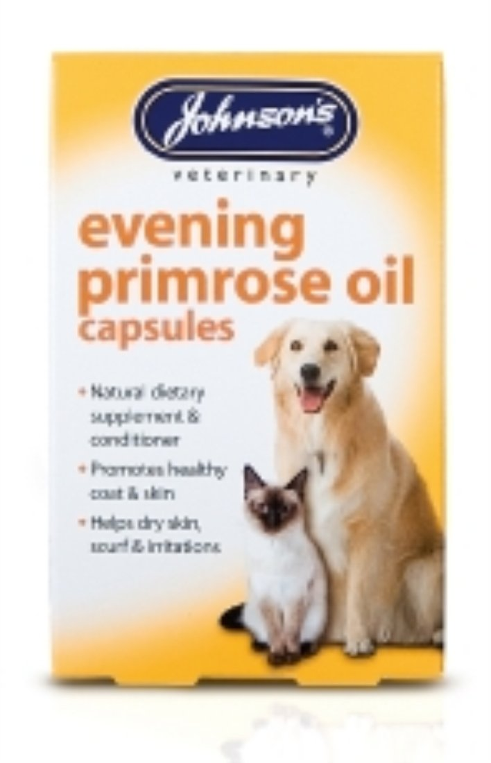 (10 Pack) Johnson's Vet - Evening Prim Oil Capsules (60) Dog Cat Johnson's Vet