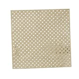Ginger Ray PM-952 Pick And Mix Foiled & Kraft Paper Party Napkins (20 Pack), Gold